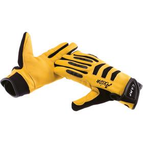 Camp Axion Handsker, yellow/black